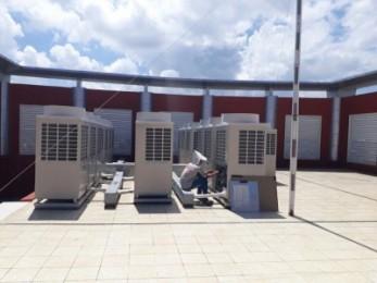 Vệ sinh máy lạnh trung tâm tại Kiên Giang